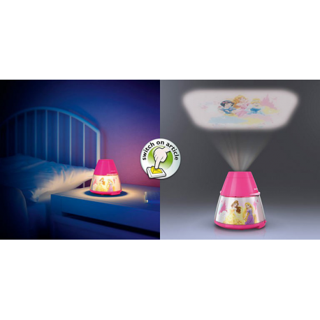 PRINCESS 71769/28/16 PROJEKTOR i LAMPA LED PHILIPS 717692816