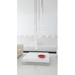 STYLO 5 WHITE LAMPA WISZĄCA AZZARDO MD1220A-5