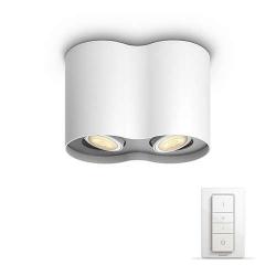--- d o s t ę p n y ----PILLAR HUE 56332/31/P7 LAMPA SUFITOWA PHILIPS Z PILOTEM