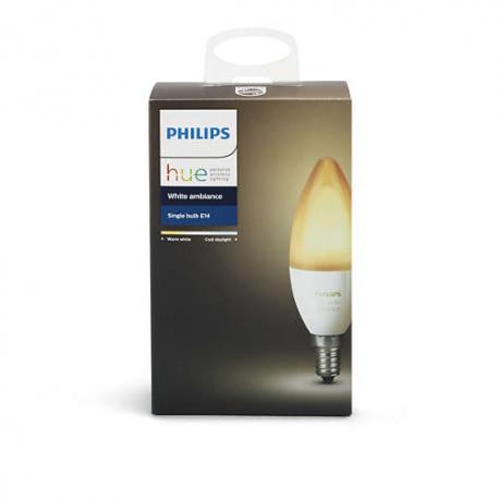 Philips Hue White ambiance pojedyncza żarówka E14 8718696695203