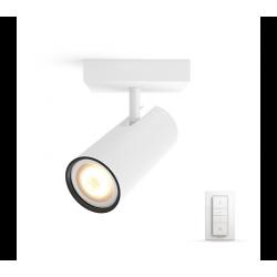 BURATTO 1L REFLEKTOR POJEDYŃCZY LED HUE + PRZYCIEMNIACZ 50461/31/P7 PHILIPS