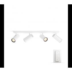 BURATTO 50463/31/P7 REFLEKTOR PODWÓJNY LED HUE + PRZYCIEMNIACZ PHILIPS