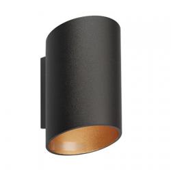 SLICE WL BLACK SPOT 50603-BK/GD (czarny) LAMPA KINKIET REFLEKTOR ZUMA LINE
