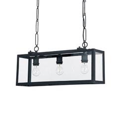 IGOR SP3 NERO LAMPA WISZĄCA IDEAL LUX 092881