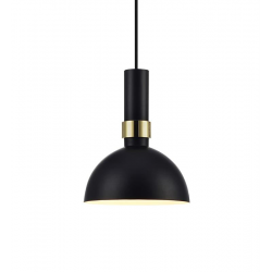 LARRY 106974 LAMPA WISZĄCA MARKSLOJD Czarny/Złoty Szczotkowany