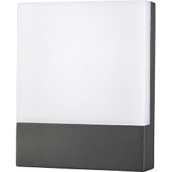 FLAT LED graphite 9422 numerek kinkiet ogrodowy IP54 Nowodvorski Lighting