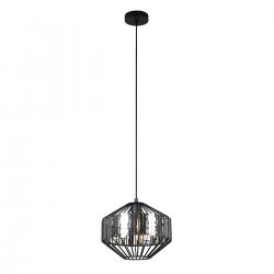 LAMPA WISZĄCA BRENTA MDM-2721/1A BK ITALUX