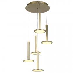 OLIVER MD17033012-5A GOLD LAMPA WISZĄCA ITALUX