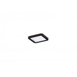 SLIM 9 SQUARE 3000K BLACK IP44 AZ2833 LAMPA SUFITOWA PLAFON LED AZZARDO
