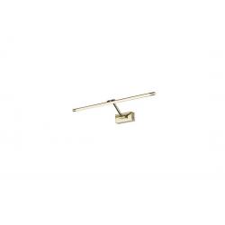 DAVINCI 70 GOLD KINKIET LED NAD LUSTRO AZZARDO AZ2658