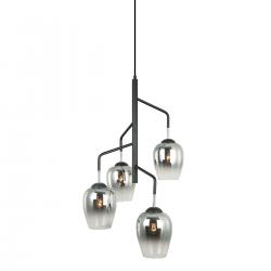 LESLA - LAMPA WISZĄCA  PEN-5359-4-BKCR ITALUX