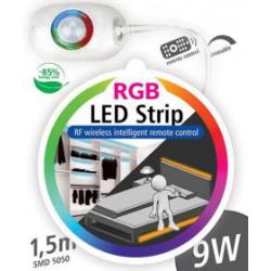 --- d o s t ę p n y -  - ZESTAW RGB TAŚMA LED 1,5m  Z...