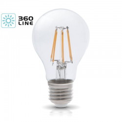 Żarówka LED E27 FGS 8W barwa 3000K 360 Line KOBI
