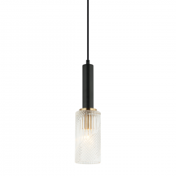 PEROLA PND-43309-1 BK+BR LAMPA WISZĄCA ITALUX