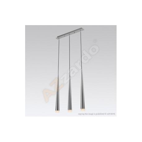 STYLO 3 CHROME LAMPA WISZĄCA AZZARDO MD1220B-3