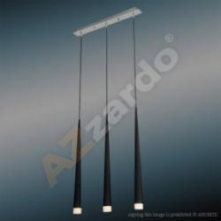 STYLO 3 BLACK LAMPA WISZĄCA AZZARDO MD1220B-3 (BLACK)