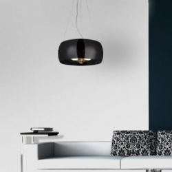 COSMO 2 BLACK LAMPA WISZĄCA AZZARDO 2901-3PB BLACK