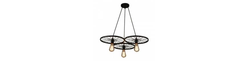 Lampy wiszące druciane/metalowe