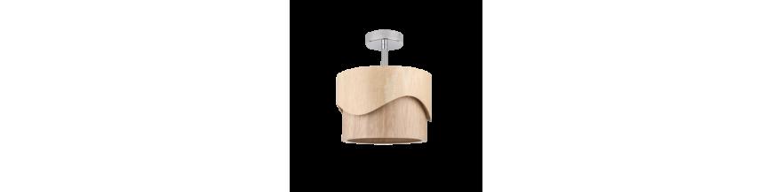 Plafony z drewnem