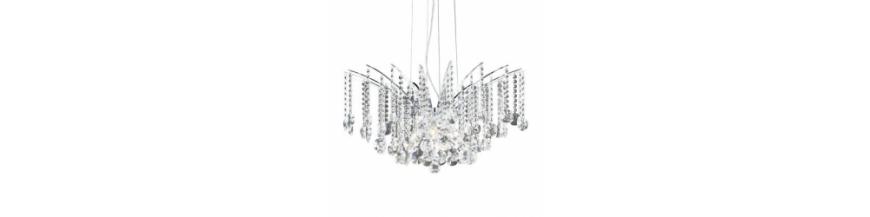 Lampy wiszące szklane i kryształowe - sufitowe | LunaOptica.pl
