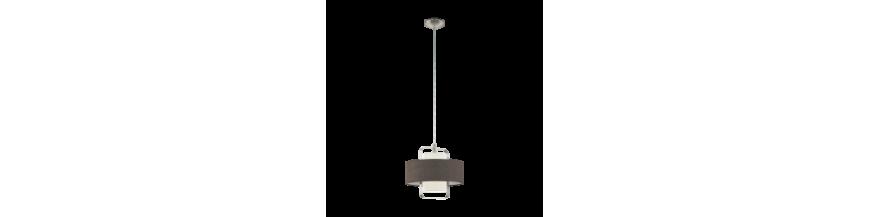 Lampy abażurowe wiszące: sufitowe z abażurem | LunaOptica.pl